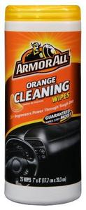 Armor All Orange Cleaning Wipes, 25 count (10831)