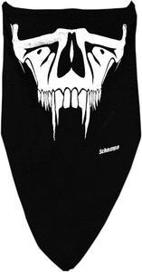 Schampa Half-Face Stretch Mask Saber Tooth VNG008B