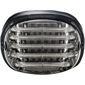 Custom Dynamics PB-TL-SBW-S Probeam LED Squareback Taillight with License Plate Illumination Window - Smoke