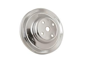 Mr. Gasket 4967 Chrome Plated Steel Water Pump Pulley