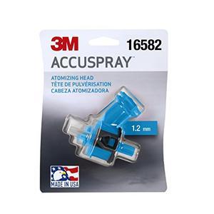 Accuspray 3M Atomizing Head, 16582, Blue, 1.2 mm, 1 atomizing heads per each