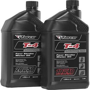 Torco International Corp T612050CE T4 Petroleum Motorcycle Oil - 20W50 - 1L.