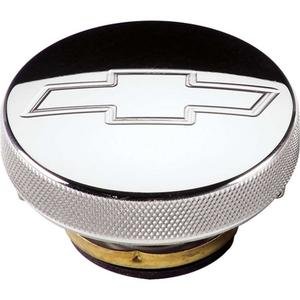 BILLET SPECIALTIES 16 lb Round Bowtie Engrave Radiator Cap P/N 75320