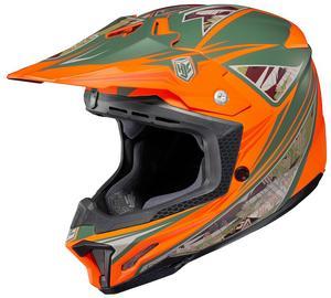 HJC CL-X7 Dynasty Helmet Flat Bright Orange (MC-6F) (Orange, X-Small)