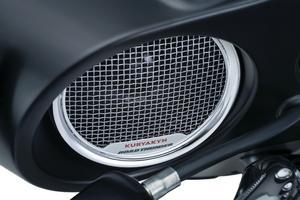 Kuryakyn RoadThunder Fairing Speaker Kit by MTX Chrome 2717