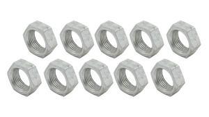 ALLSTAR Aluminum 3/4-16 in LH Thread Natural Jam Nut 10 pc P/N 18283-10