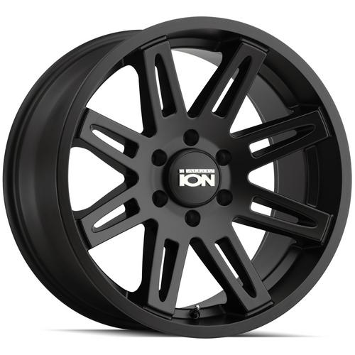 "Ion 142 18x9 5x5"" +0mm Matte Black Wheel Rim 18"" Inch"
