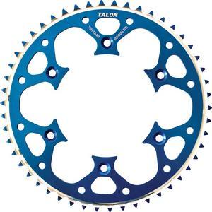 Talon Groovelite Aluminum Rear Sprocket Blue 50T 75-13050D