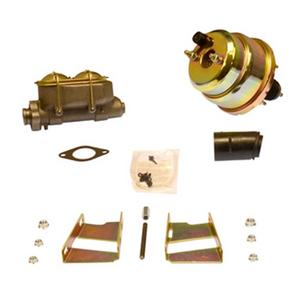 SSBC Performance Brakes A28136 7 in. Dual Diaphragm Booster/Master Cylinder