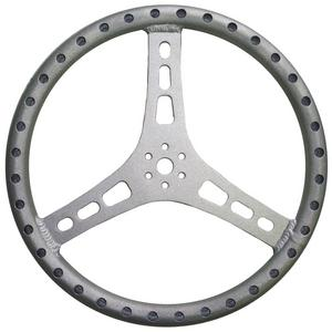 TRIPLE X RACE COMPONENTS 15 in Diameter 3 Spoke Steering Wheel P/N ST-0002