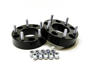 "2pc 1.25"" 32mm 5x4.5 TO 5x4.5 Black Wheel Spacers 1/2""x20 Studs"