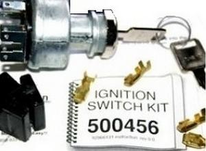 American Autowire Square Key Ignition Switch P/N 500456