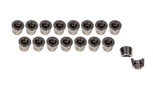 DEL WEST Titanium 11/32 in Super 7 Degree Valve Lock 16 pc P/N 690-C-16