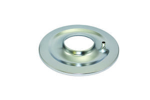 SPECIALTY CHROME 14 in Round Flat Base Chrome Air Cleaner Base P/N 7299B