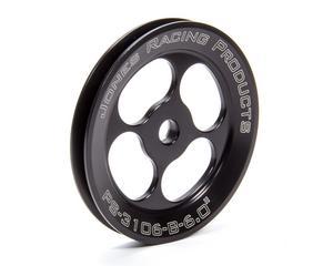 JONES RACING PRODUCTS Press-On V-Belt Power Steering Pulley P/N PS-3106-B-6.000