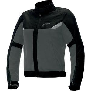 Alpinestars Stella Quasar Textile Womens Jacket Anthracite/Black (Gray, XX-Large)
