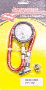 LONGACRE 2 in Diameter Analog 0-30 psi Standard Tire Pressure Gauge P/N 52024