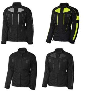 Olympia Womens Durham Motorcycle Dual Sport Waterproof Jacket Neon Yellow 3XL