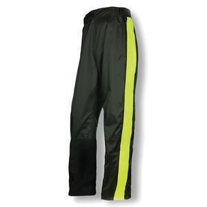 Olympia Mens Motorcycle New Horizon Rain Pants Neon Yellow XS/S
