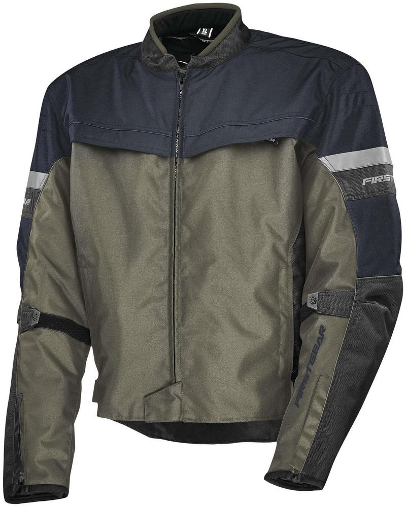 Firstgear Rush Jacket Charcoal (Gray, Small)