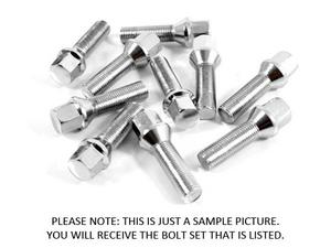 TUNERLUGS 12x1.5MM 10-PIECE CONE SEAT LUG BOLT SET - 48MM