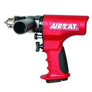 "AIRCAT 4451 1/2"" Reversible, Ergonomic Drill, Small, Red"