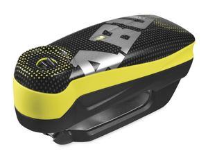 Abus 48733 Detecto 7000 RS 1 Alarm Disc Lock - Pixel Yellow