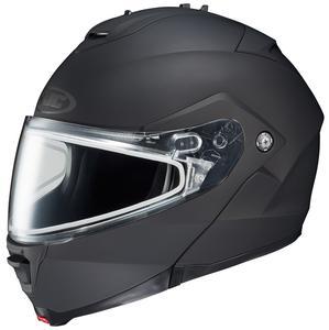 HJC IS-Max II Solid Snow Helmet with Dual Lens Shield Matte Black (Black, XX-Large)