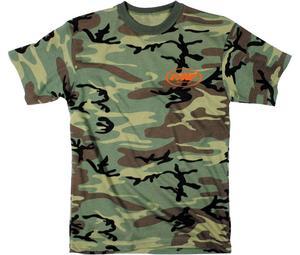 FMF Mens Smoke Screen Tee T-Shirt Camo 2XL