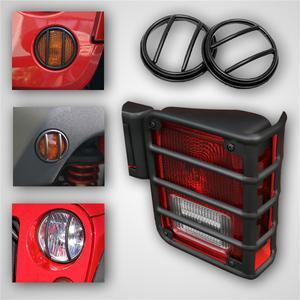 Rugged Ridge 12496.02 Euro Guard Kit Offroad/Racing Lamp Guard