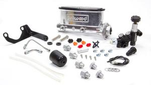 WILWOOD 1 in Bore Tandem Aluminum Master Cylinder Kit P/N 261-13269-P