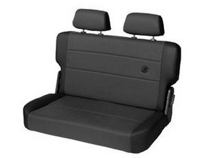 Bestop Trailmax II F And T Bench Seat, Rear - Jeep 55-95 CJ5, CJ7 And Wrangler