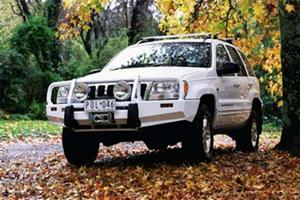 ARB 4x4 Accessories 3450100 Front Deluxe Bull Bar Winch Mount Bumper