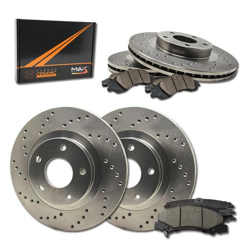 Rear Brake Rotors for 2001 2002-2004 Buick LeSabre Pontiac Bonneville Aurora