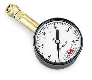 Accugage 15XGA Tire Pressure Gauge - 1-15 psi in 1/4 lb. Incr.