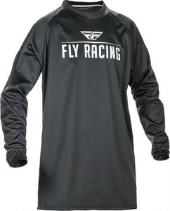 Fly Racing Windproof Technical Jersey (Black, XX-Large)