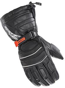 Rocket Snowgear Adult Extreme Leather Waterproof Snow Gloves Black 2XL