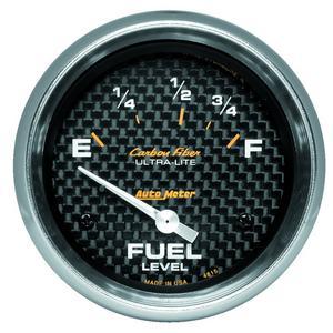 AutoMeter 4815 Carbon Fiber Electric Fuel Level Gauge