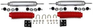 Rancho RS98508 Steering Stabilizer; Dual Kit Fits 80-96 Bronco F-150