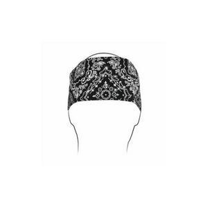 Zan Headgear Highway Honey Womens Headband Black Paisley Rhinestone (Black)