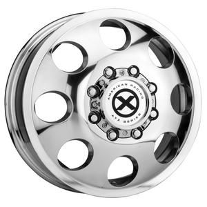 "ATX Series AX204 Baja Dually 16x6 8x170 +111mm Polished Wheel Rim 16"" Inch"