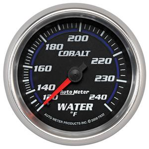 AutoMeter 7932 Cobalt Mechanical Water Temperature Gauge