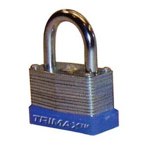 Trimax TLM87 Laminated Solid Steel Padlock - 1.50in.