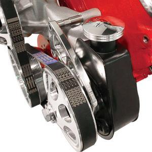 BILLET SPECIALTIES Polished Saginaw Power Steering Cap Cover P/N 89120