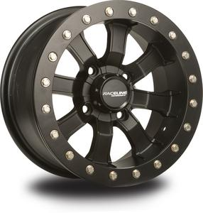 Race Line ATV UTV Wheel Mamba Blackout 4X110 Beadlock 14X7 5+2