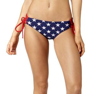 Fox Red, White and True Womens Lace Up Bottoms Heather White (White, X-Small)