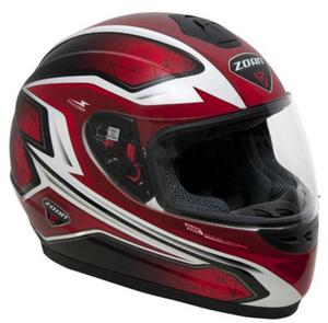 Zoan Thunder Electra Graphics Youth Helmet (Red, Small)