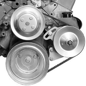 ALAN GROVE COMPONENTS SBC Driver Side Power Steering Pump Bracket Kit P/N 402L