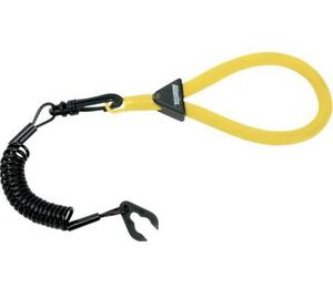 Atlantis A2128 Floating Wrist Lanyard - Yellow/Black