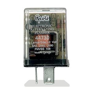Grote 6-Lamp, Heavy Duty Alternating, Electonic Flasher (44730)